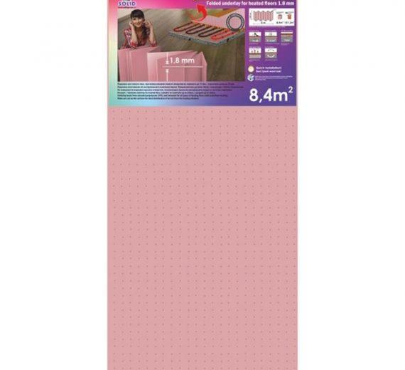 Підкладка-гармошка перфорована для теплої підлоги