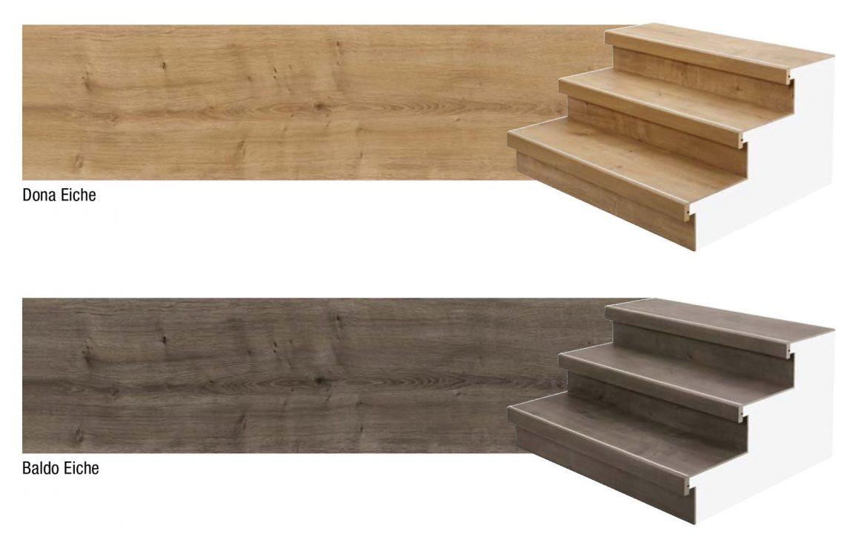 Замена старой лестницы на новую Moderna Scala