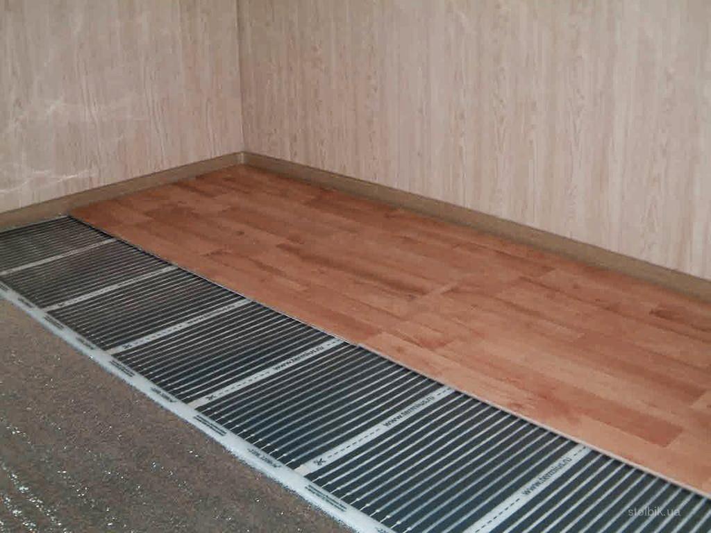 плівкова тепла підлога
